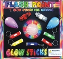"Flash Point & Glo Sticks 2"" Toy Capsules 250pcs"