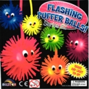 "Flashing Puffer balls Seris 2 2"" Toy Capsules 250pcs"