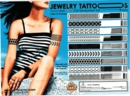 "Gold & Silver Jewel Tattoos 2"" Toy Capsules 250pcs"