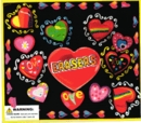 "Love Heart Erasers 2"" Toy Capsules 250pcs"