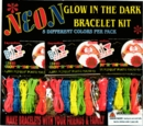 "Neon Glow in Dark Bracelet Kit 2"" Toy Capsules 250pcs"