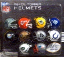 "NFL Pencil Topper Helmets 2"" Toy Capsules 250pcs"