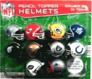 "NFL Pencil Topper Helmets & Stickers 2"" Toy Capsules 250pcs"