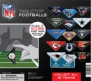 "NFL Tabletop Footballs 2"" Toy Capsules 250pcs"