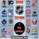 "NHL Mini Tattoos 2"" Toy Capsules 250pcs"