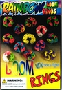 "Rainbow Loom Rings 1"" Toy Capsules 250pcs"