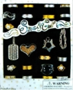 """Silver & Gold 1"""" Toy Capsules 250pcs"""