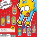 "Simpsons Dog Tag Key Chains 2"" Toy Capsules 250pcs"