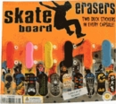 "Skate Board Erasers 2"" Toy Capsules 250pcs"