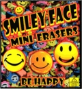 "Smiley Face Mini Erasers 1"" Toy Capsules 250pcs"