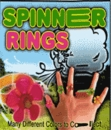 "Spinner Rings 1"" Toy Capsules 250pcs"
