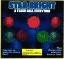 "Star Bright Flashing Balls 2"" Toy Capsules 250pcs"