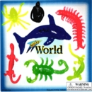 "Sticky World Creatures 2"" Toy Capsules 250pcs"