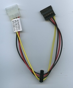 INTEL C62614-001 SATA POWER CABLE 4 PIN TO SATA X2