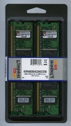 KINGSTON KVR400X64C3AK2/256 DDR400 256MB NON-ECC KIT (2X128MB)