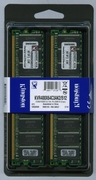 KINGSTON KVR400X64C3AK2/512 DDR400 512MB NON-ECC KIT (2X256MB)