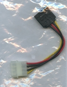ZMAX SATA POWER CABLE 4 PIN TO SATA X1