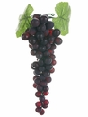 "1 Dozen 10"" Artificial Grape Bundles (Shown in Green/Light)"
