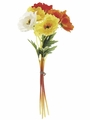 1 Dozen - 12 inch Artificial Poppy Bundle - Mixed