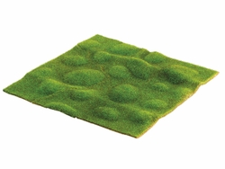"1 Dozen - 14""x14"" Artificial Moss Sheet"