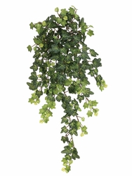 "22.5"" Artificial Lace Ivy Hanging Silk Bush - Set of 12 (Shown in green)"