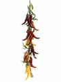 "1 Dozen - 26"" Artificial Chili Pepper String"