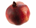 "1 Dozen - 3.9"" Weighted Artificial Pomegranates - Shown in Red"