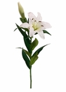 "1 dozen - 35"" Artificial Stargazer Lillies"