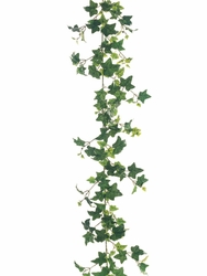 6' Artificial Needlepoint Silk Ivy Garlands - 1 Dozen