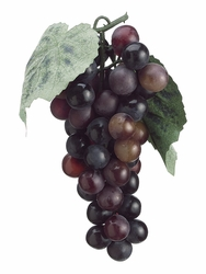 1 Dozen - Artificial Grape Bundles - 7 inch (Shown in Burgundy)