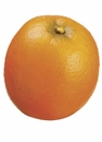 """1 Dozen Artificial Oranges - 3.25"""" D and Weighted"""