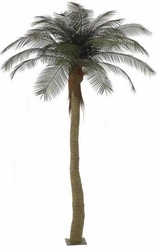 12' Outdoor Artificial Palm Tree