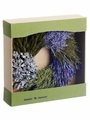 "13.7"" Preserved Lavender Wreath"