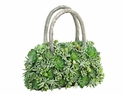 "14.5"" H Artificial Cactus Succulent Decorative Handbag Arrangement"