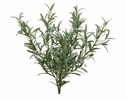 "14"" Artificial Rosemary Herb Bush x 6 - Set of 12"