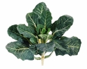"15"" Artificial Rhubarb Vegetable Bush - Set of 6 (Shown in Green/White)"