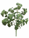"15"" Artificial Silk mint Bush - Set of 12"