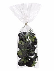 168 Pieces of Artificial Blackberries with Stem