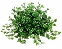 "17"" Artificial Pothos Plant in Tow Tone Green - Set of 4"