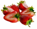 "2.25"" Half Strawberry (6 ea./12 Bags) total 72 pieces"