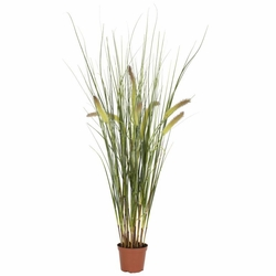 2.5' Artificial Grass Plant in Pot