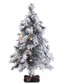 2' Artificial Alping Tree With Lights