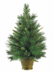 2' Augusta Artificial Pine Tree in Pot