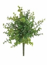 "14"" Artificial Plastic Boxwood Bush  - 2 Dozen"