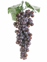 2 Dozen - Artificial Grapes Bunch - Shown in Burgundy