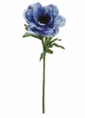 "20"" Artificial Anemone Silk Flower Spray - Set of 12 Stems (shown in blue)"