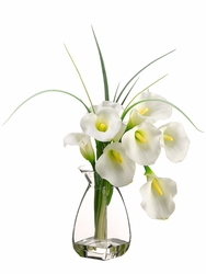 "20"" Artificial Calla Lily Flower Arrangement"