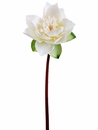 "20"" Artificial Silk Lotus Flower Spray - Set of 12"