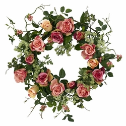 "20"" Rose Wreath"
