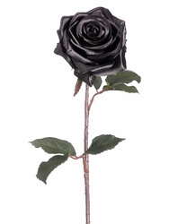 "21.5"" Artificial Black Magic Rose Spray Stem - Set of 12"